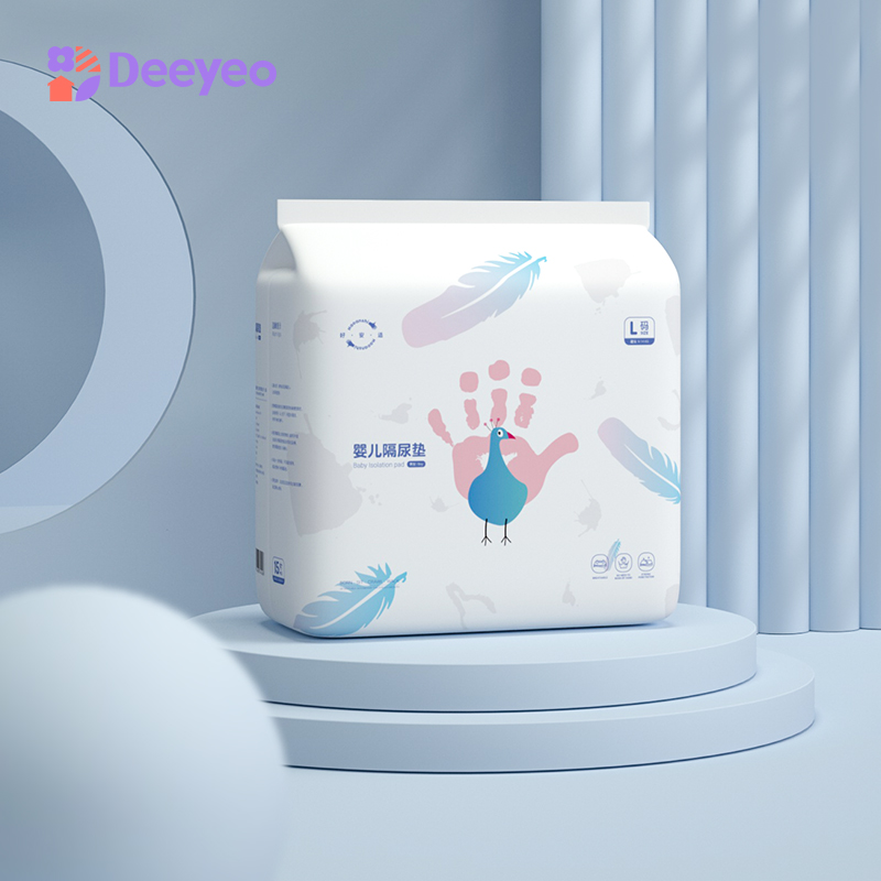Deyo Newborn Baby Disposable Diaper Waterproof Nappy Urine Mat Kids Simple Bedding Changing Cover Pad Sheet Protector 2packs