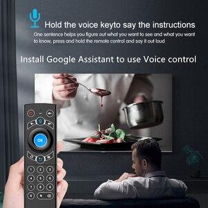 Image 3 - L8star Air Mouse подсветка гироскоп Google Assistant голосовой поиск микрофон 2,4G беспроводной пульт дистанционного управления для Fire TV Android TV