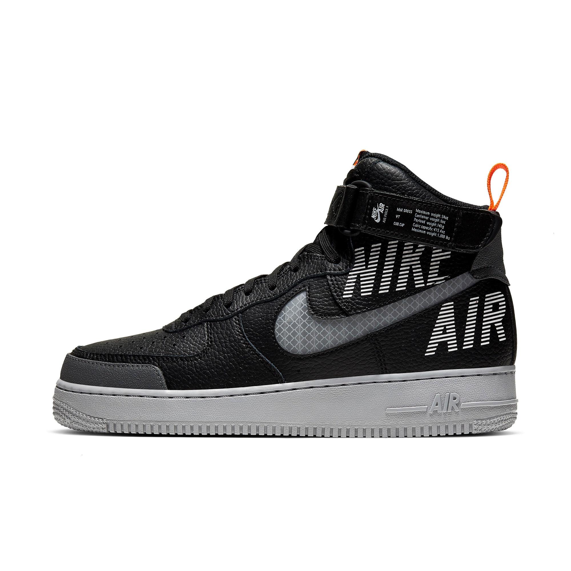 nike air force 1 high 07 white and black