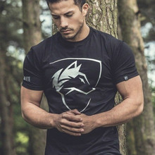 Men Tshirt Gothic Shirt Workout Fitness Streetwear Fashion T Shirts Mens Clothing Cotton T-shirt