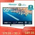 هيسنس H50B7300 UHD تلفاز ذكي 50 ''4K ، HDR 10 + ، 1127 × 656 مللي متر VIDAA U3.0 télécoude voale Alexa intégré بتصميم نحيف