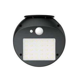 Image 5 - Solar Power PIR Motion Sensor Wall Light Outdoor Waterproof Energy Saving Street Yard Path Home Garden Security Lamp 30 LEDs
