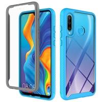 2 en 1 de 360 pesado funda del teléfono para Huawei Honor P Smart Z Nova 20 9X 5T 2020 P40 P30 Lite 4G E Y7P Y7 Y6 Y9 primer 2019 cubierta
