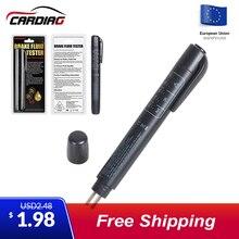 Автомобильный тестер тормозной жидкости 5 Led тестер ручка для Automotivo автомобиля DOT3/DOT4 Тормозная жидкость автомобильный диагностический инструмент тестирования