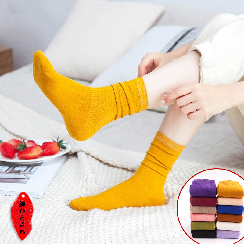 Woman 1pair New Winter Thick Warm Wool Terry Towel Girl Sock Vintage Christmas Grace Socks Colorful Sock Gift Winter Cute Sokken