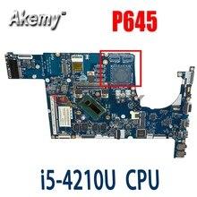 Akemy для ACER P645 TMP645 Материнская плата ноутбука P645 TMP645 I5-4210U V4DA2 LA-A131P испытанное хорошее Бесплатная доставка