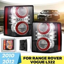 Luz trasera de freno para coche, 1 par de luces LED con bombilla para Land Rover Range Rover 2010 2011 2012