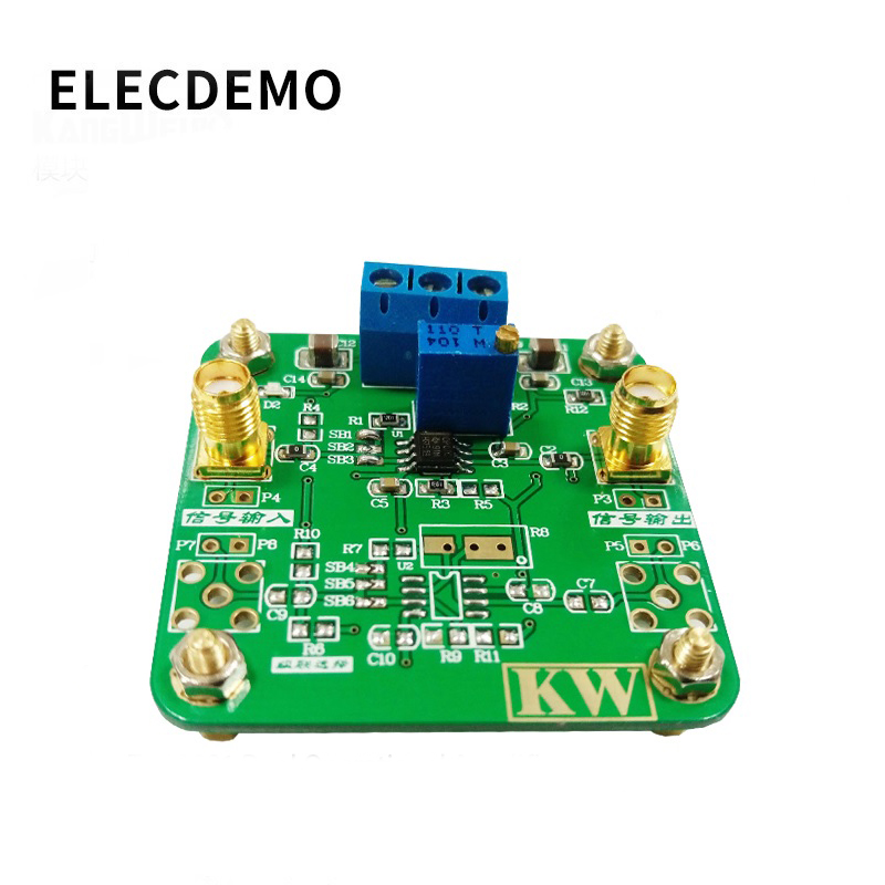 THS3091 module high-speed high-frequency operational amplifier with the opposite phase amplification
