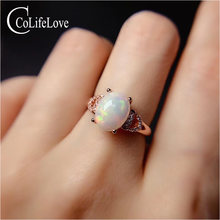 Colife jewelry australia opal ring for daily wear 8mm*10mm natural
