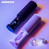 2019 new Jabees Firefly TWS Wireless Earphones Bluetooth Earphone Stereo Sport Waterproof Headset Noise Reduction for Android