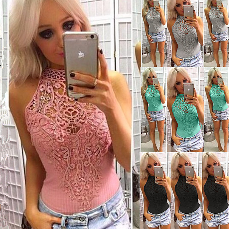 Sexy Lace Bodysuit Women Bodycon Jumpsuit Summer Rompers Party Club Womens Jumpsuit Body Top Overalls Patchwork 1 Piece Playsuit