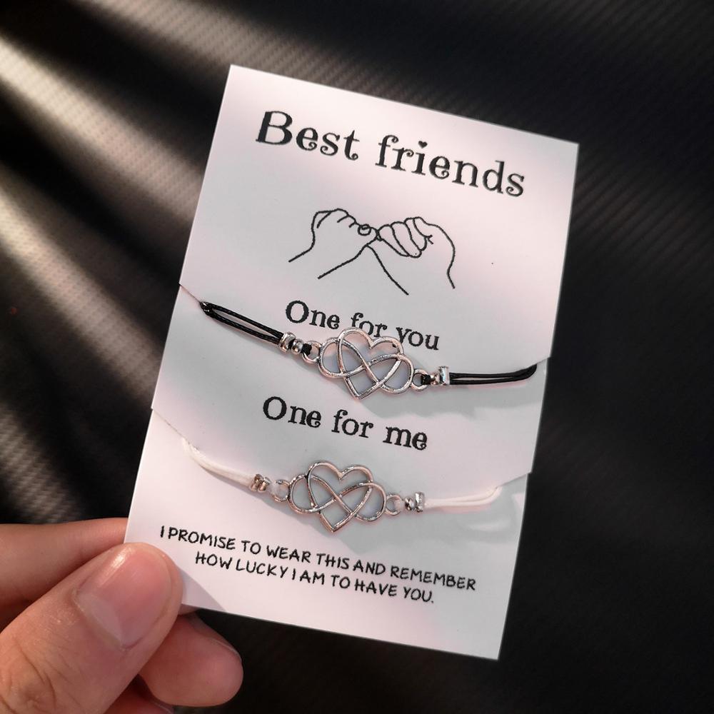 Rinhoo лучшее для друзей и пар Браслеты Набор для Для женщин девочек Для мужчин Бесконечная любовь сердце черепаха Компас браслет 2 шт./компл. Желание Ювелирные изделия