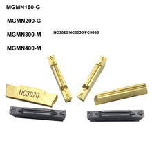 10pcs MGMN200 G MGMN 200 2mm Carbide inserts CNC grooving inserts 2mm groove knife blade tool