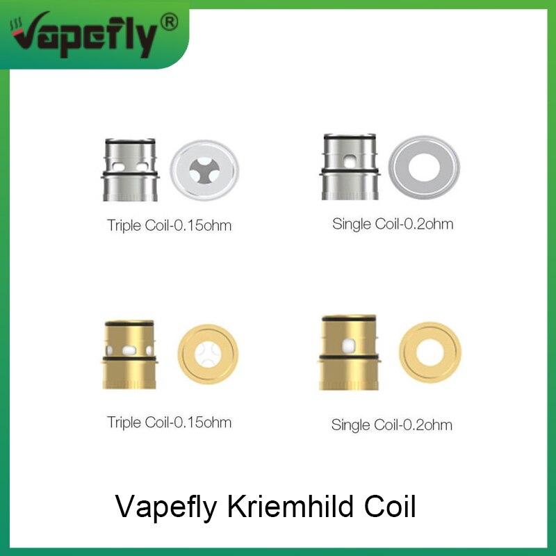 Original Vapefly Kriemhild Coils 0.15ohm Triple Coil / 0.2ohm Dual/Single Coil For Vapefly Kriemhild Sub Ohm Tank Vape Coil