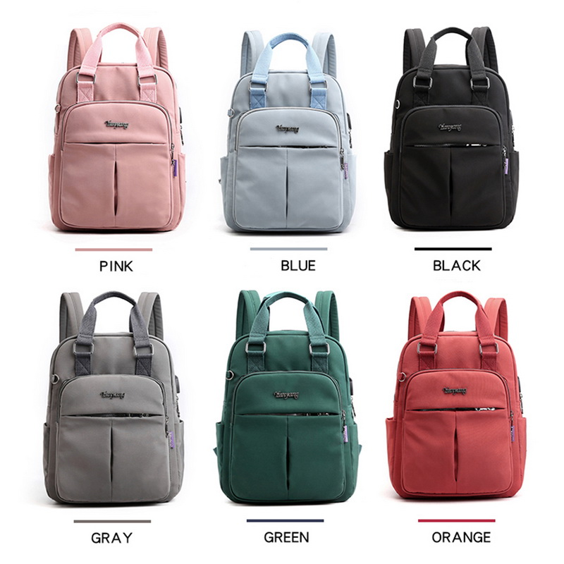 H850092ec17724aeb91216c52fb143ccei - New Waterproof Nylon Backpack for Women Multi Pocket Travel Backpacks Female School Bag for Teenage Girls Dropshipping
