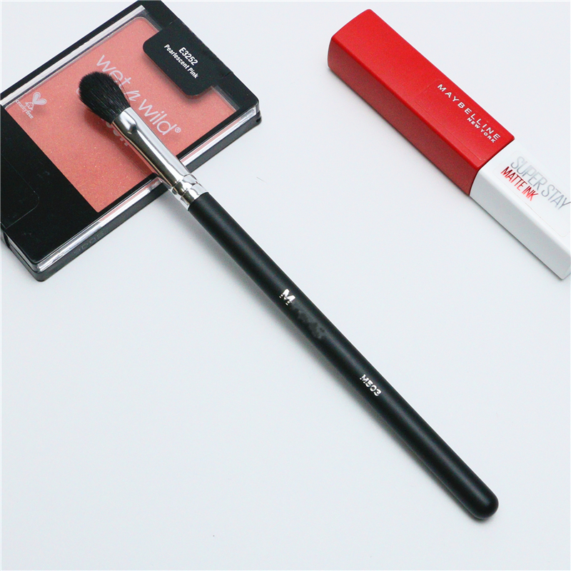 Makeup Brushes Crease Eye Shadow Blending Brush Single High Quality Soft Goat hair Synthetic Profession Cosmetic Brushes M503