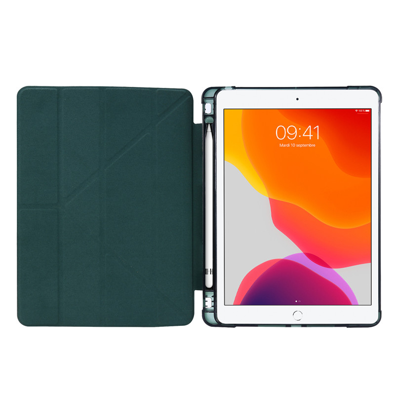 2 7th Flip Generation 10 Stand Cover iPad Protective inch PU For Cover Leather Case Smart