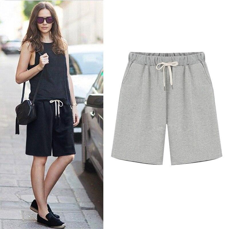 Women Short Pants Loose Cotton Pants Women Casual Pants  Ladies Shorts
