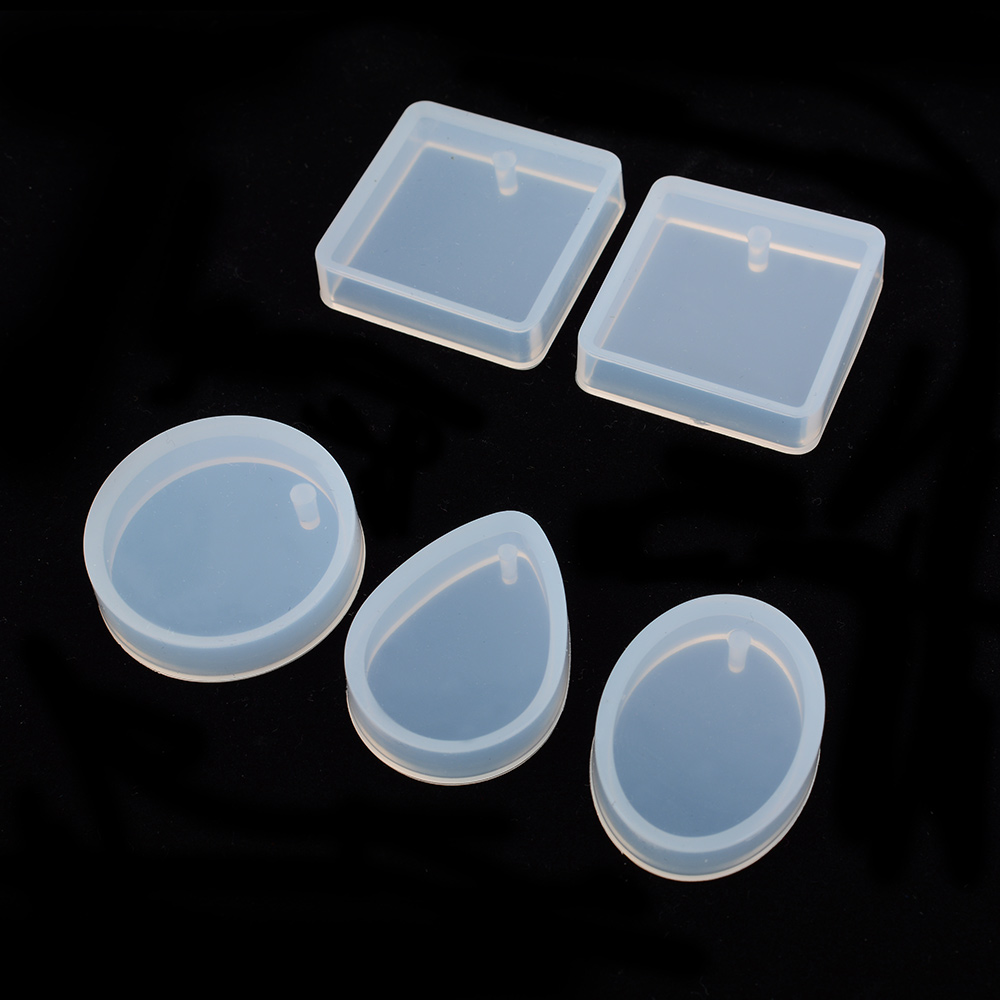1/5 Pieces/set Pendant Silicone Mold Resin Silicone Mould Handmade Tool Epoxy Resin Molds New Arrival