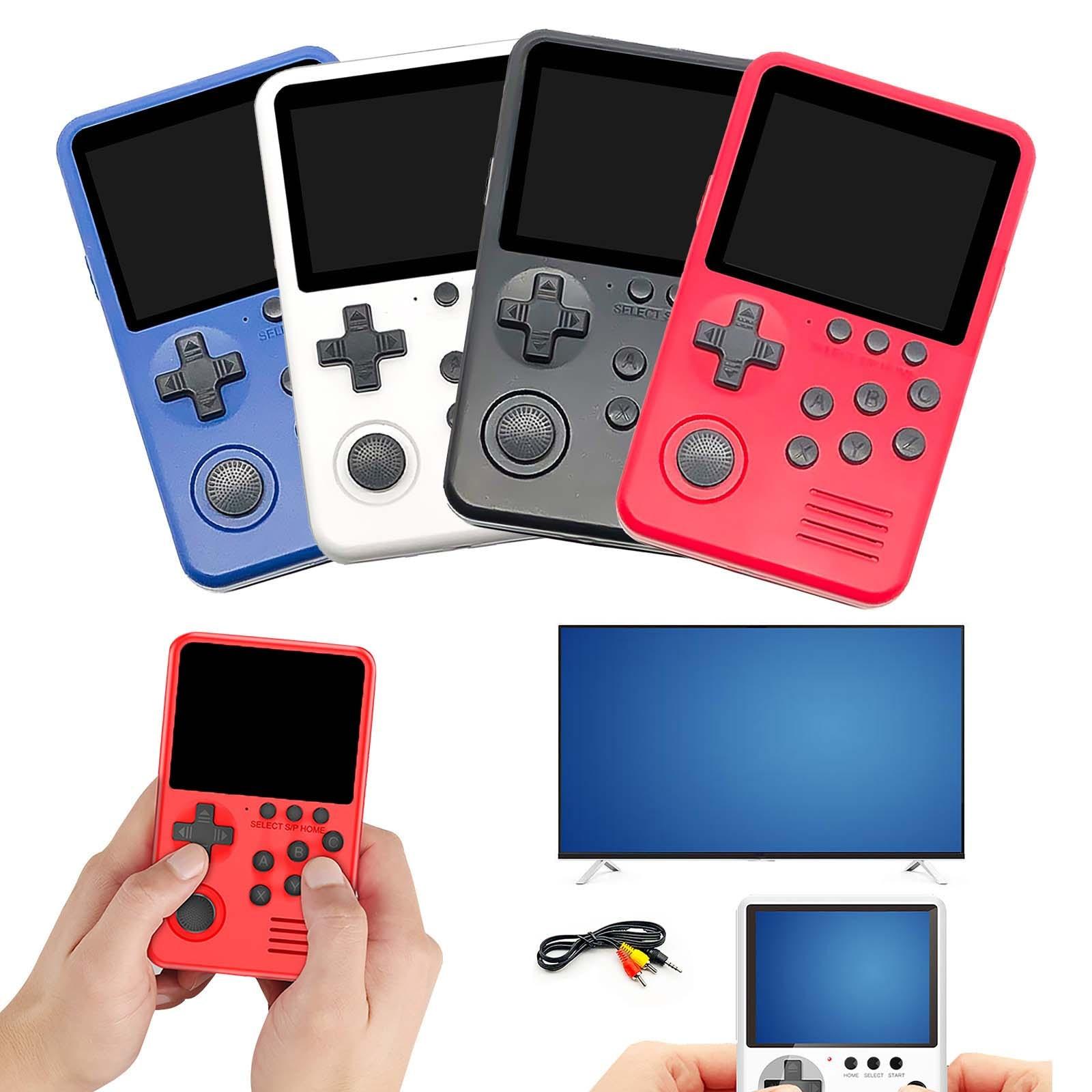 M3s Mini joueurs de jeu portables 1500 + jeux 16 bits rétro Console de jeu vidéo intelligente avec carte 4g Tf pour enfants cadeau #4