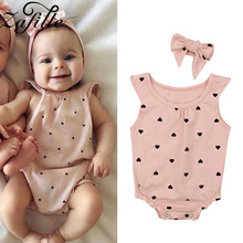 baby girls boutique clothing girls kid back to school outfits girls car camper school clothing with pink ruffle shorts with bows ZAFILLE Pink Baby Girl Clothes Sleeveless baby Romper With Headaband Summer Cotton Girls Clothing Newborn Infant Girls Romper