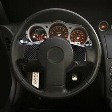 Накладка на руль, внутренняя накладка на руль, 2 шт., аксессуары для автомобиля, углеродное волокно