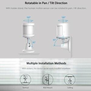 Image 5 - Aqara czujnik ruchu ludzkie ciało inteligentny czujnik ruchu bezprzewodowy uchwyt połączenia ZigBee Light Gateway Mi Home