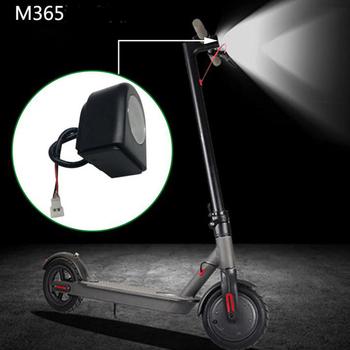 Światło główne światło Led światło przednie zamiennik dla M365 skuter elektryczny części skuter LED światło przednie tanie i dobre opinie GUOMUZI Skuter światła Scooter LED Light