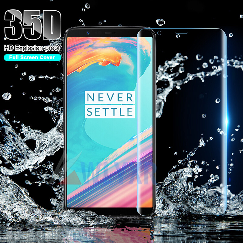 Ultra-thin 35D Transparent Full Cover Soft Hydrogel Film For Oneplus 7 Pro 6 6T 5 5T 7Pro Screen Protector Protective