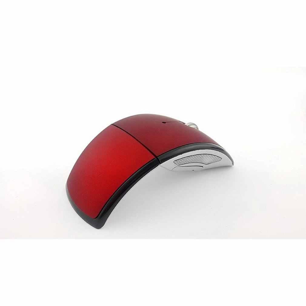 Chuột Không Dây 2.4 GHz Chuột Máy Tính Quang USB Bề Mặt Mờ Có Thể Gập Lại Công Thái Chuột Cho Máy Tính Laptop Máy Tính Để Bàn