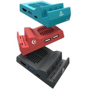 Image 3 - ABS raffreddamento dissipazione del calore tipo C TV Dock Base supporto 4K Video USB 3.0 HDMI Dock Station di uscita per nintendo Switch Host Stand