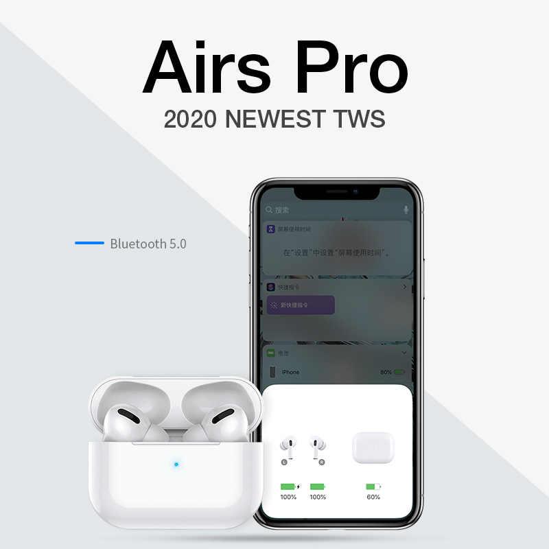 Tws bluetooth イヤホン airpodding プロ 3 ワイヤレスヘッドフォンヘッドセットスマートタッチエアーとケース iphone android 用ポッド