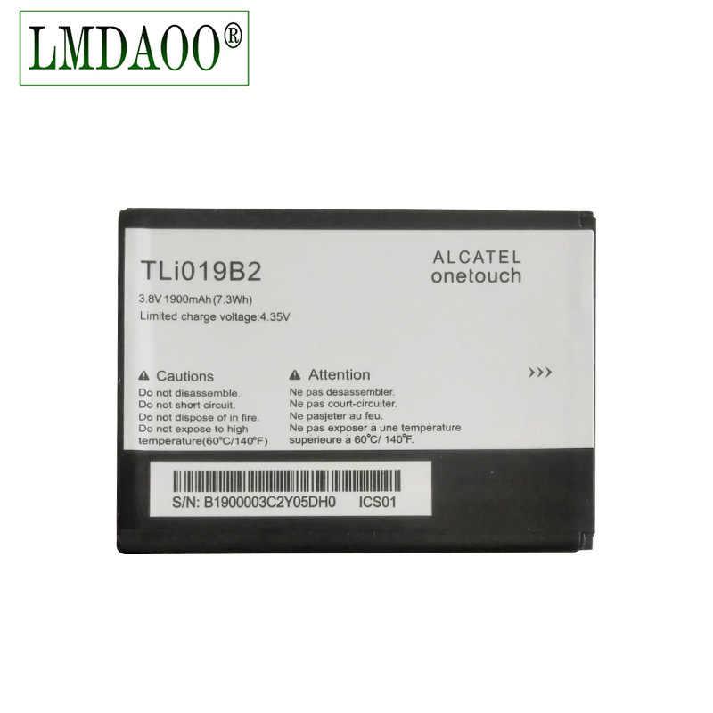TLI019B2 TLi019B1 batería de 1900mAh para ALCATEL one touch POP C7 OT-7041 7041D dual OT991 6010 992D 916D CAB1900003C2 teléfono