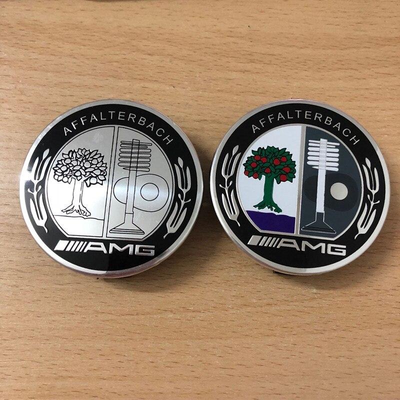 1pcs Car Accessories 75mm Car Wheel Center Hubcaps Badge For Mercedes Benz AMG R G Class GLK GLA C200 E200 C200L Car Styling
