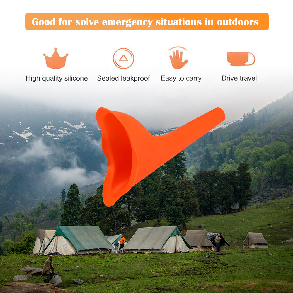 Outdoor Car Travel Portable Adult Urinal Unisex Potty Pee Funnel  Peeing Standing Man Woman Toilet Portable Urinal 6