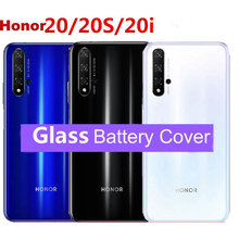 For Huawei Honor 20 Back Battery Cover Housing for huawei Honor 20 Pro Back Rear Glass Replacement Case Repair Parts
