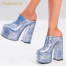 Sarairis 2020 Fashion New Hot Slip On Super High Heels Shoes
