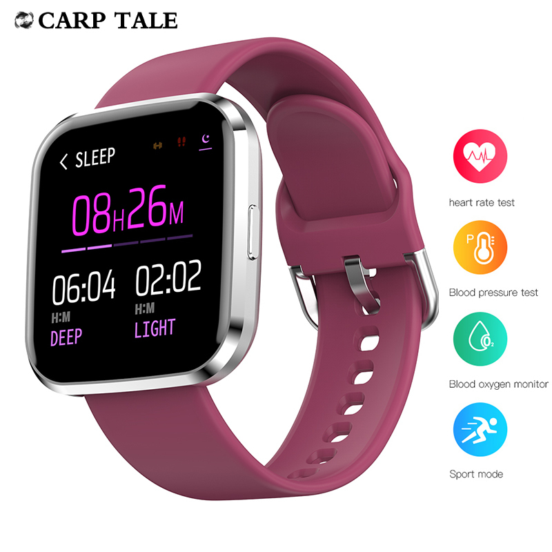 New Smart Watch 2020 Women Fitness Bracelet Calories Heart Rate Monitor Waterproof watches Sport Smartwatch For Android iOS
