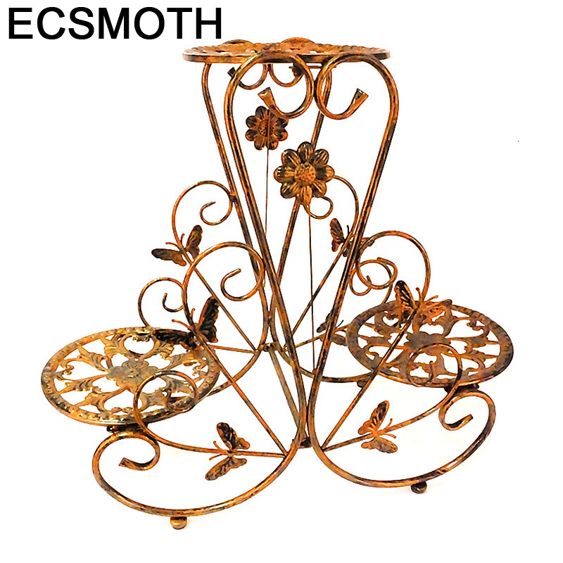 Exterior Mensola Porta Piante Terrasse Outdoor Decoration Metal Raflar Balcone Shelf Balkon Balcony Balcon Flower Iron Rack