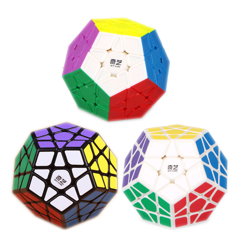 QIYI Magic Puzzle Cube Speed Professional 12 Sides Puzzle Cubo Magico Educational Toys For Children