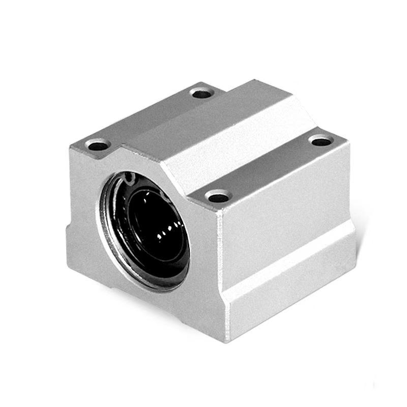 1Pcs SC6UU SC8UU SC10 SC12UU 13 SC16 20 SC8LUU Linear Ball Bearing Block JCNC Linear Unit Linear Shaft 3D Printer