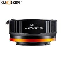 K & F Concept NIK Ống Kính NEX PRO E Mount Adapter Dành Cho Nikon AI Ống Kính Cho Sony NEX E Mount Camera Bộ Chuyển Đổi Ống Kính