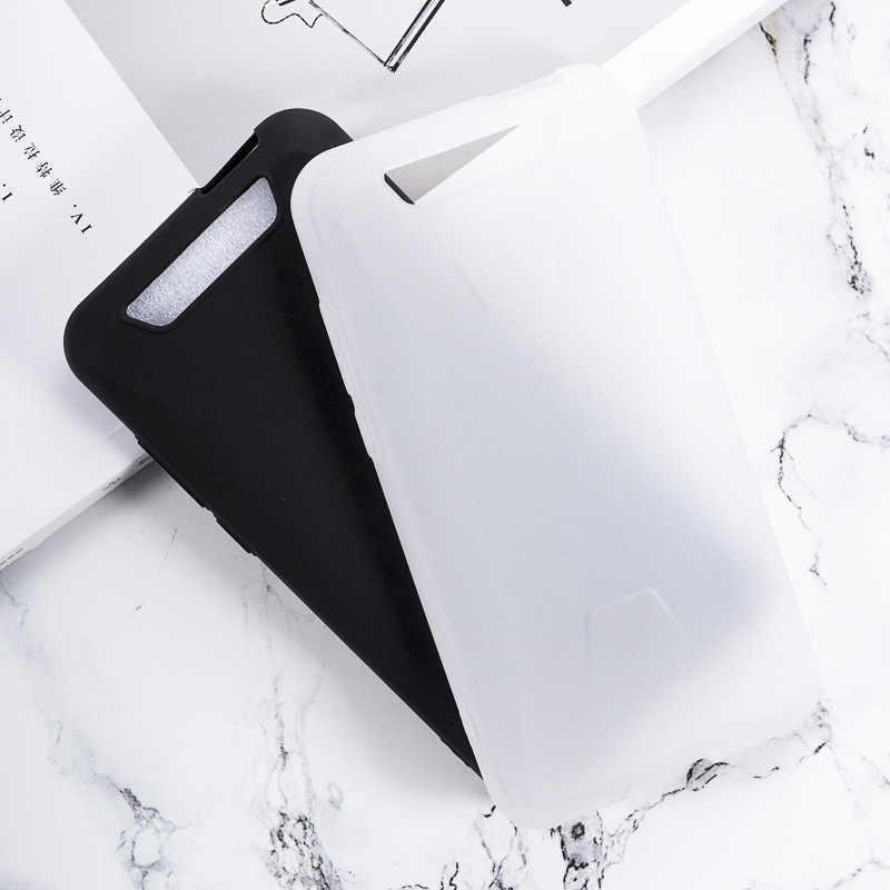 Blackview BV5500 Pro funda suave TPU mate Pudding móvil cubierta negro antipolvo Ultra protección teléfono Capa para Blackview BV5500