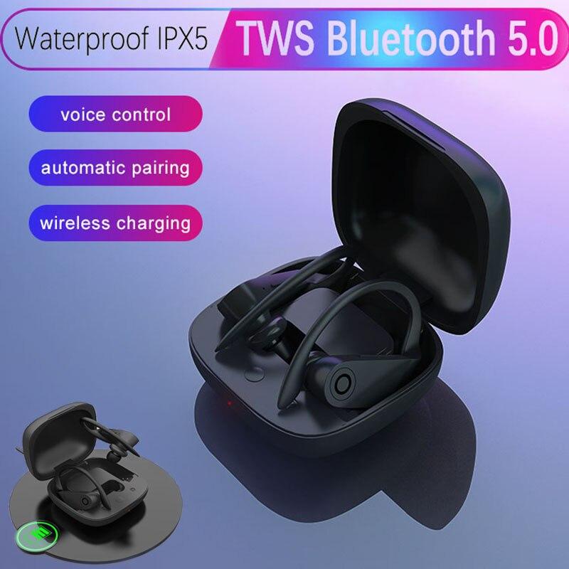 TWS empreinte digitale tactile Bluetooth écouteurs meilleure vente 2019 produits air Pods Gaming ps4 mignon casque pour filles Gamer sommeil mignon