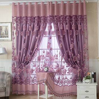 YokiSTG Jacquard Sheer Curtains For Living Room Bedroom Kitchen Blinds Shade Tulle Luxury Window Treatments Drapes new high quality embroidered luxury curtains window for living room bedroom kitchen tulle curtains valance drapes