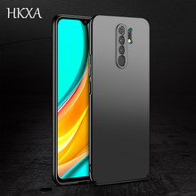New For Xiaomi Redmi 9 Case Hard PC Frosted Cover Ultra Slim Matte Cases For Xiaomi Redmi9 9 9A 9i 9C 9T Ptime Phone Case