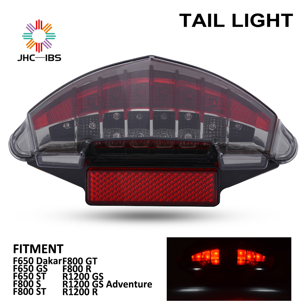 Motorcycle Accessories LED Tail light Turn Signal Rear Brake Lamp For BMW F650 Dakar GS ST F800 S GT R R1200 GS Adventure R image