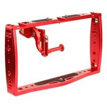 Feichao Duiken Dual Handheld Grip Bracket Stabilizer Extension Telefoon Clamp Camera Rig Cage Onderwater Case Voor Gopro Hero 9 8 7