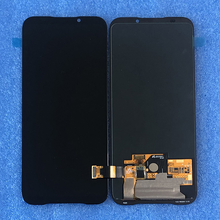 """6.39 """"Original AMOLED สำหรับ Xiaomi สีดำ SHARK 2 Pro DLT A0 หน้าจอ LCD + Digitizer สัมผัสสำหรับ Xiaomi BlackShark 2 SKW H0"""