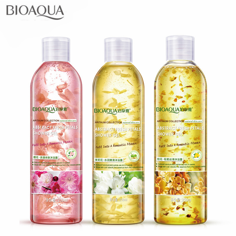 Romantic Floral Skin-friendly Shower Gel Body Wash Moisture Replenishment Bath Moisturizing Lasting Fragrant Soothing Skin Care